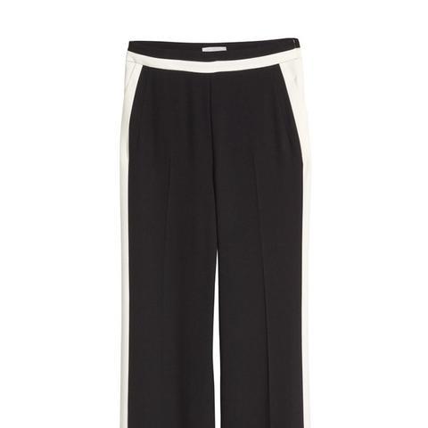 Wide-Cut Suit Pants