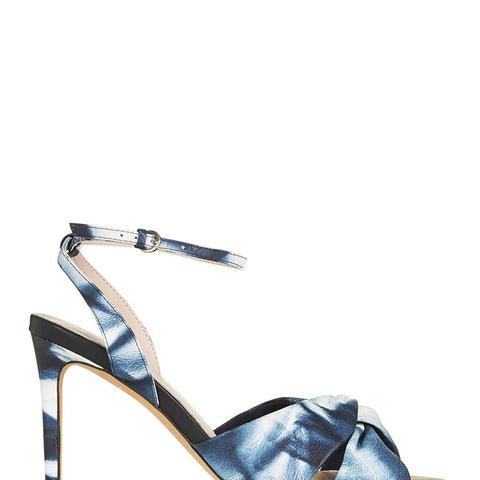 Nadine Tie-Dye Twist Front Sandals