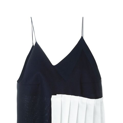 Pleated Strappy Vest Top