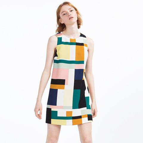 Printed Jumpsuit Dress