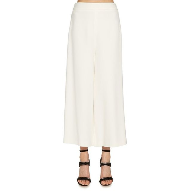 Proenza Schouler Wide-Leg Cropped Trousers