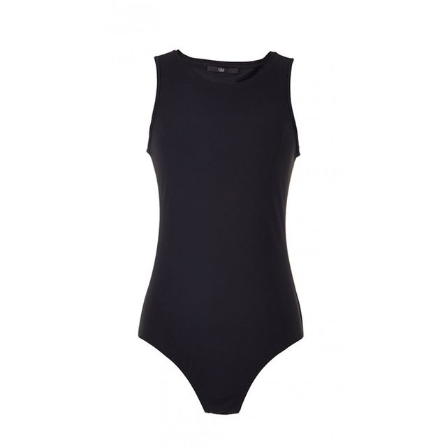 Tibi Stretch Sleeveless Bodysuit