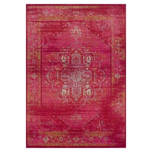 Miss Amara Fayyum Red Egyptian Overdyed Rug