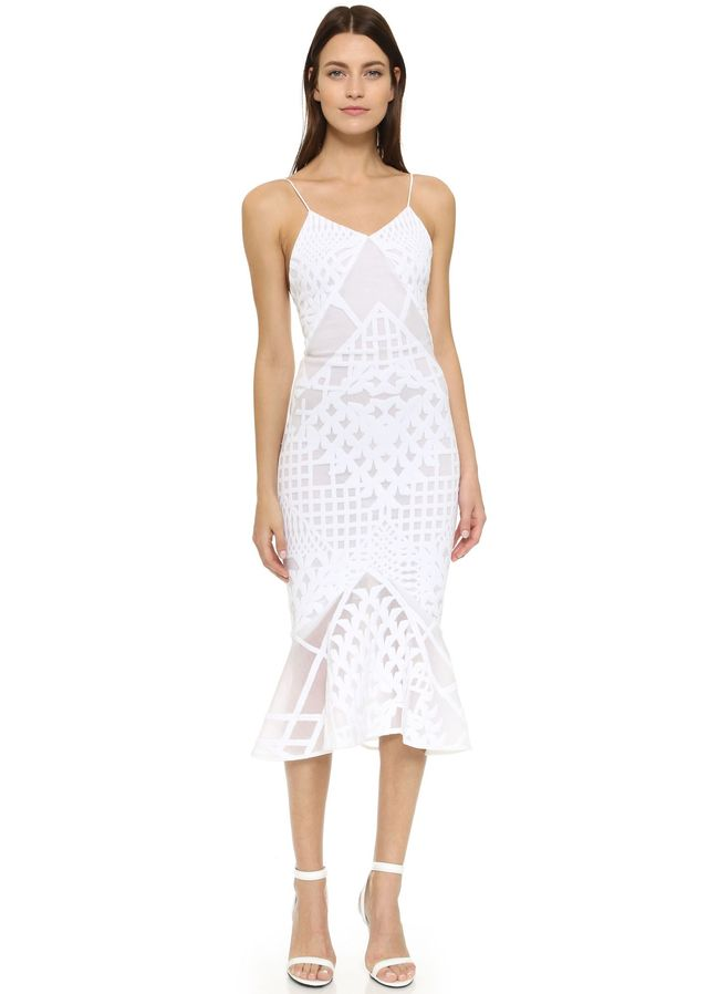 Jonathan Simkhai Bonded Burnout Dress