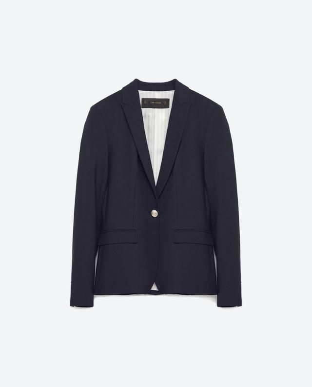 Zara Buttoned Blazer