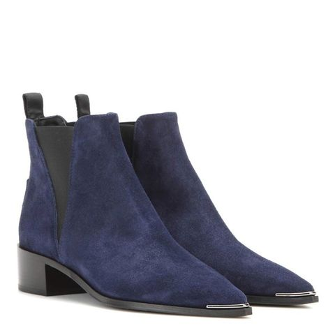 Jensen Suede Ankle Boots