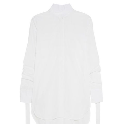 Sierra Oversized Cotton-Poplin Shirt