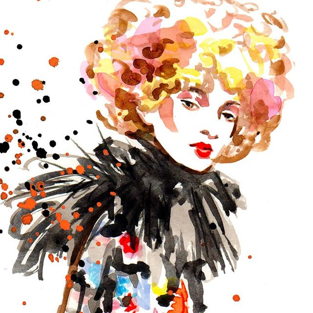 We Had the Most Talked-About Fashion Week Show Sketched