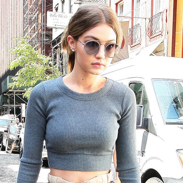 How Gigi Hadid Made a Yoga Top Look Surprisingly Elegant
