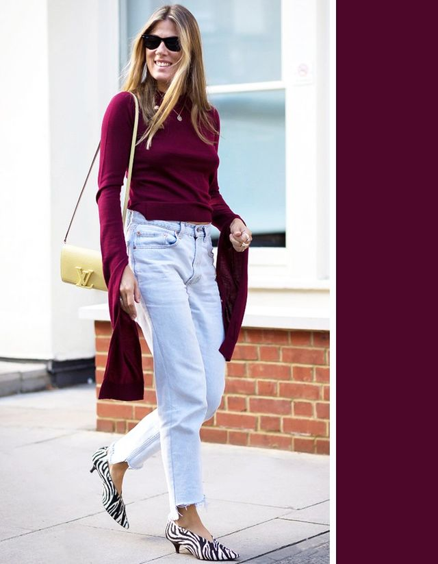 The most flattering colors to wear with every denim wash for Shirts that go with black jeans