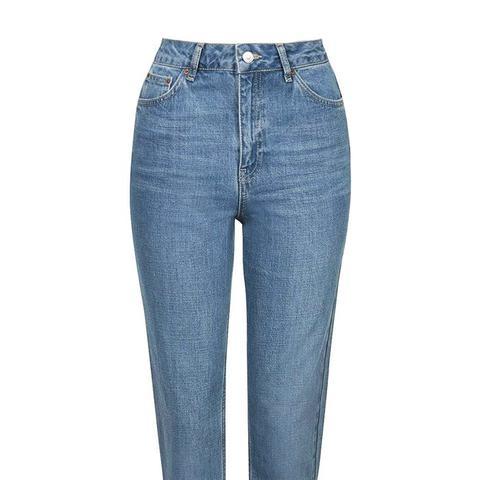 Pretty Blue Mom Jeans