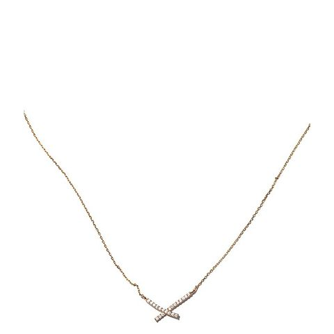 Addison Gold Crystal Necklace