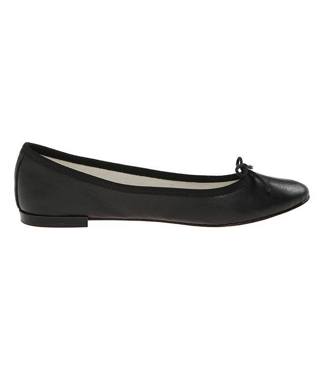 Repetto Cendrillon Ballet Flats in Nappa Black