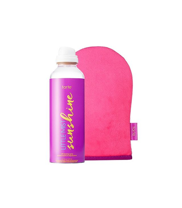 Tarte Little Mist Sunshine Self-Tanning Spray and Mitt