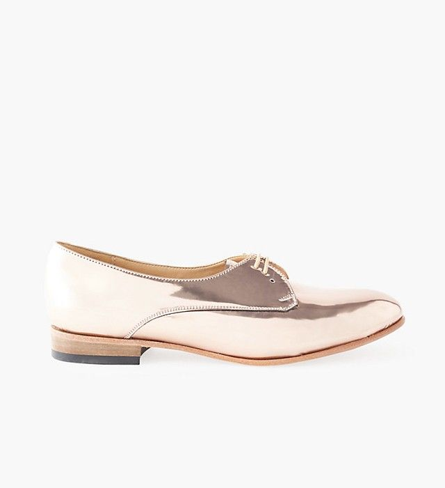 Dieppa Restrepo Breezy Cali Metallic Oxfords