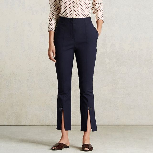 Trademark Front Slit Pants