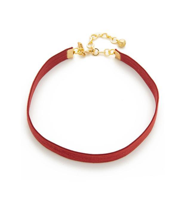 Vanessa Mooney Velvet Choker Necklace