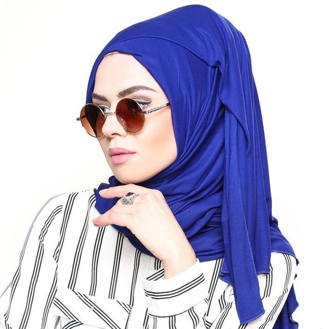 Modanisa Muslim Fashion: Rabia Z Combed Jersey Scarf