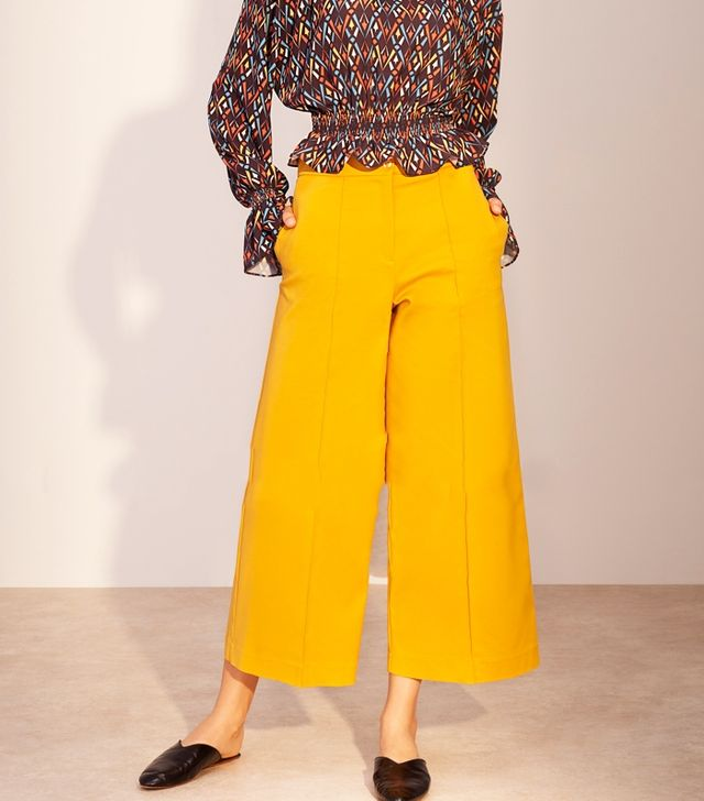 Modanisa Muslim Fashion: Kuaybe Gider Yellow Trousers