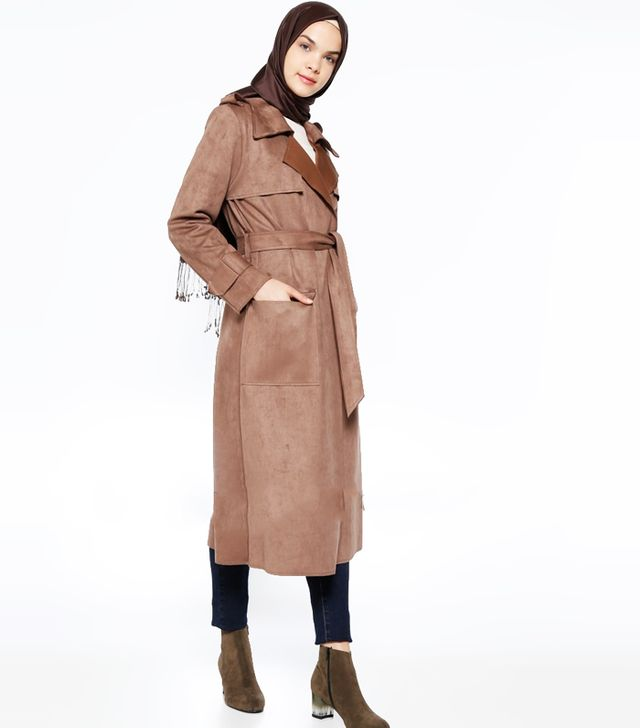 Modanisa Muslim Fashion: Neways Minc Topcoat