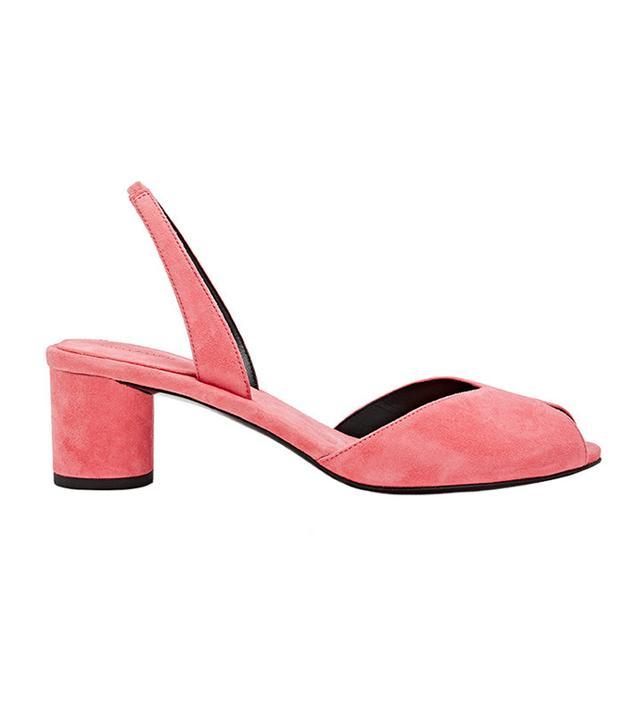 Women's Suede Slingback Sandals