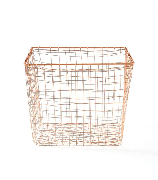 West Elm Wire Mesh Basket