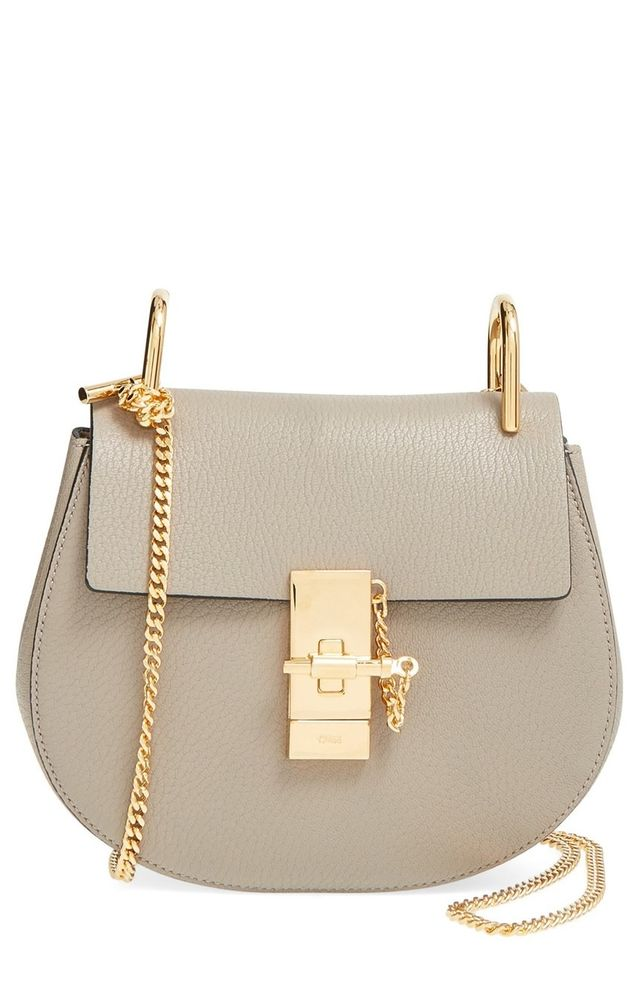 Chloé Small Drew Leather Bag