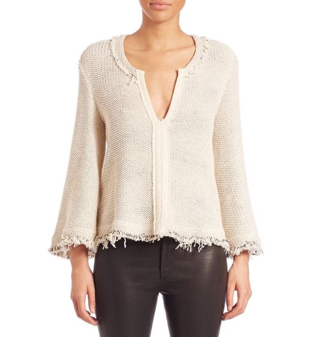 IRO Kolton Frayed Sweater