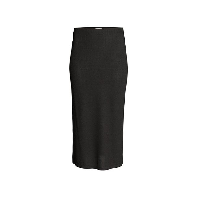H&M Ribbed Jersey Skirt