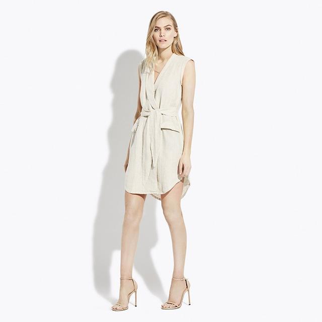 AYR Linen Utility Dress