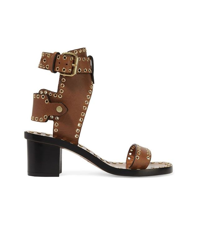 Isabel Marant Jaeryn Embellished Leather Sandals