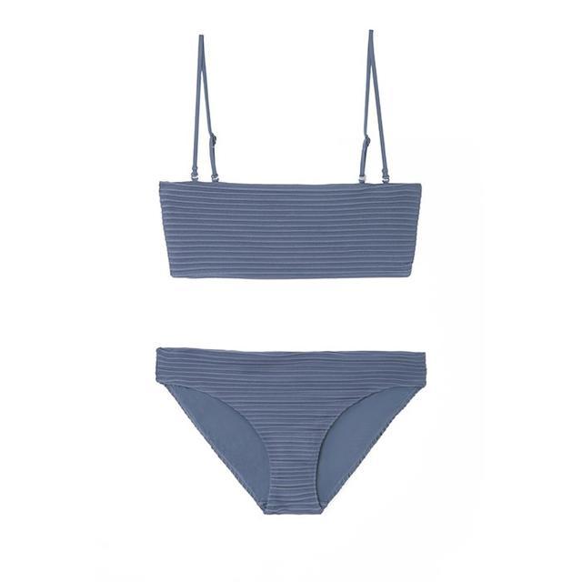 COS Ripple Bikini Top