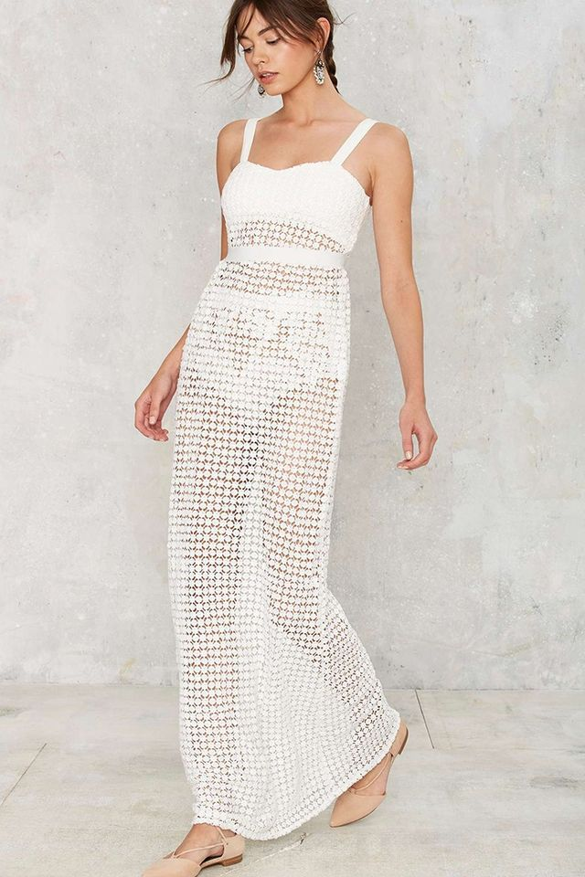 Nasty Gal Cover to Crochet Cover-Up
