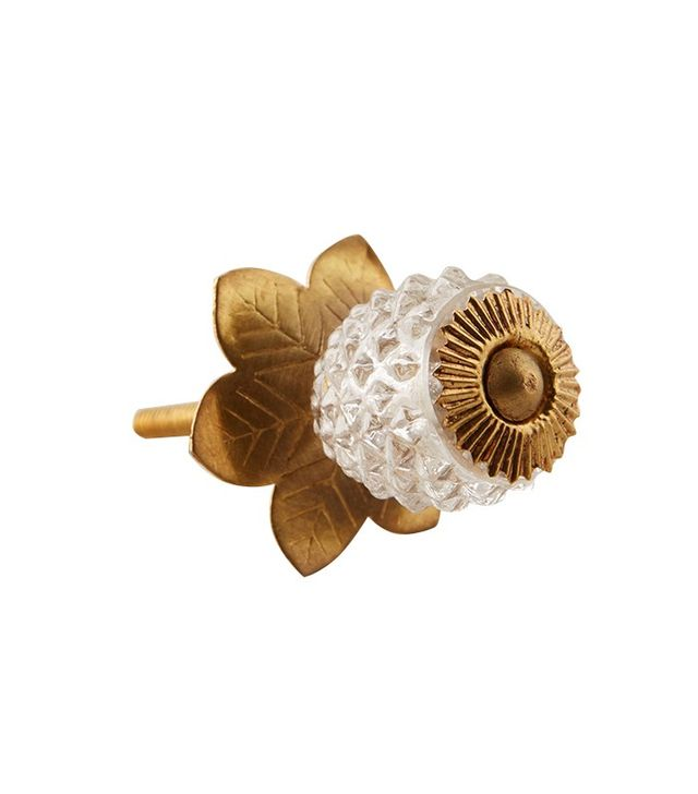 Anthropologie Pineapple Upside-Down Knob
