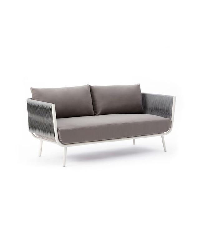 West Elm Twist Weave Sofa
