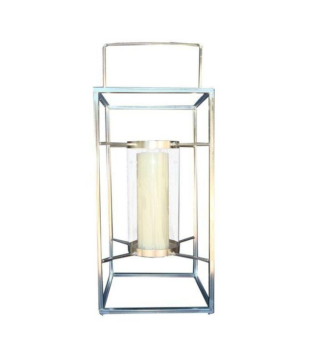 Vintage Large Outdoor Candle Lantern