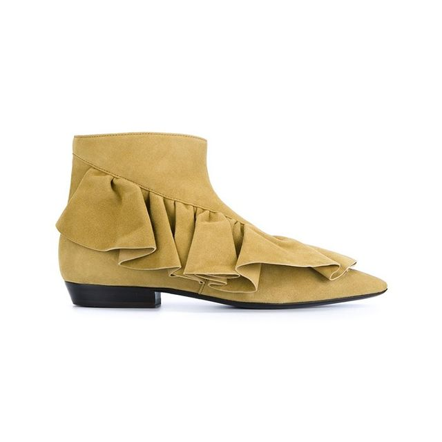 J.W.Anderson Ruffle Ankle Boots