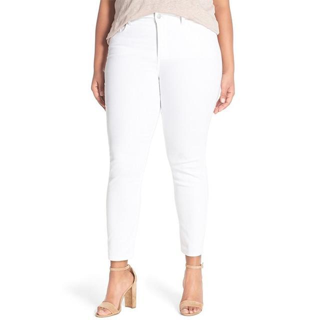 NYDJ Stretch Slim Ankle Jeans