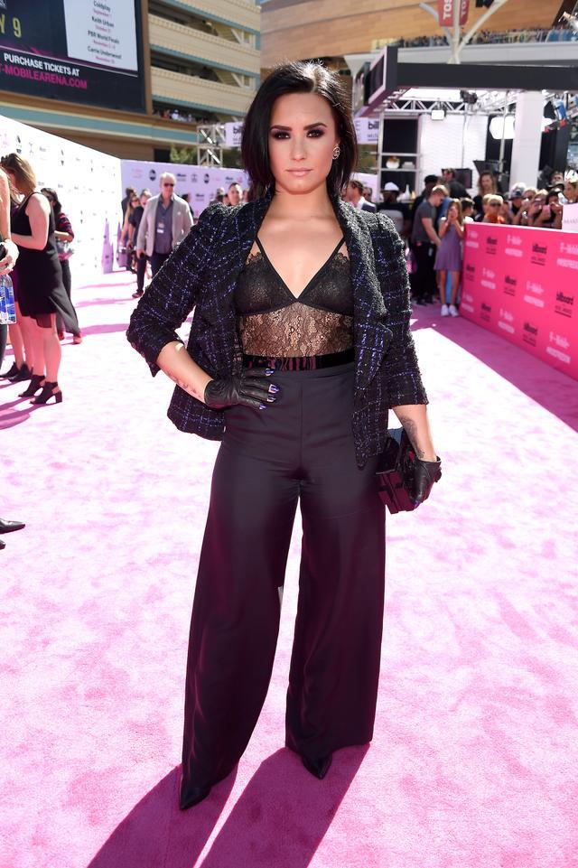 WHO: Demi Lovato WHAT: Singer