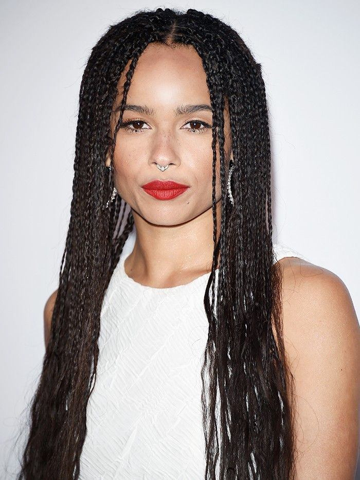 5 Beauty Lessons I Learned In 5 Minutes With Zo 235 Kravitz