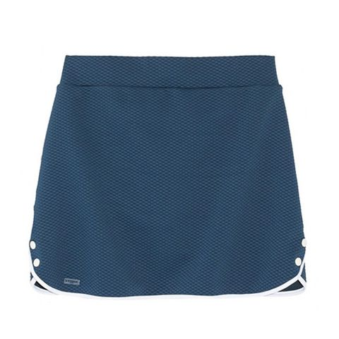 Textured Stretch-Jersey Tennis Skirt