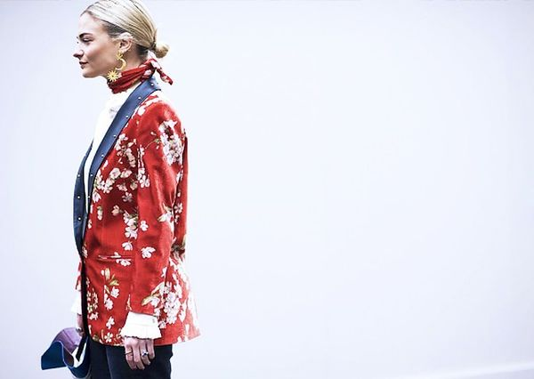 How to wear a scarf: the matchy-matchy scarf