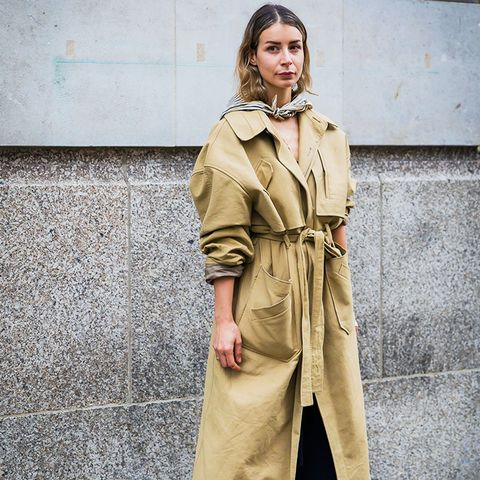 how to wear a scarf: the loose and nonchalant