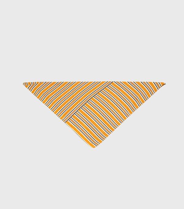 How to Wear a Scarf: Zara Striped Scarf