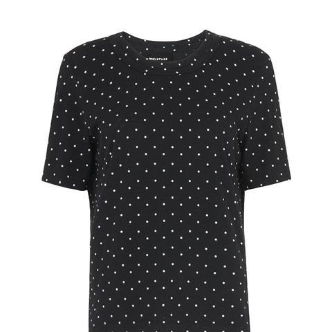 Spot Rosa Double Trim T-Shirt