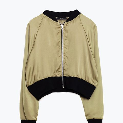 Short Bomber Jacket