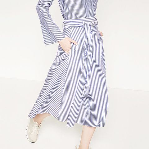 Studio Striped Skirt