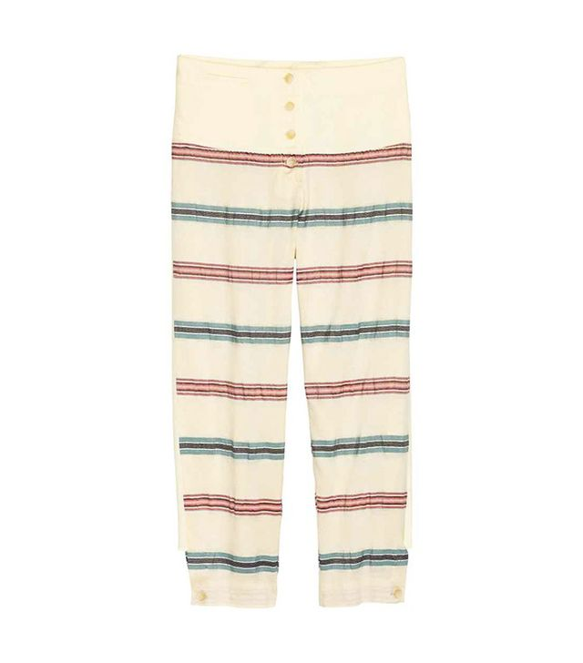 H&M Silk Trousers