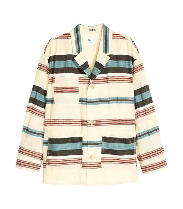 H&M Jacket in a Silk Blend