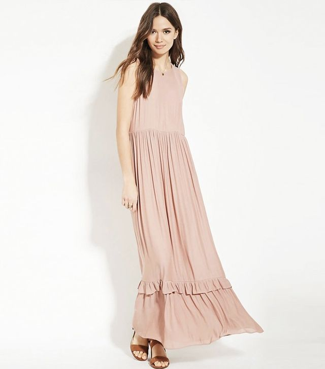 Forever 21 Contemporary Ruffled Maxi